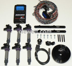 XDi-200 single plug COP ignition for 911 Porsche, ROTARY A/C