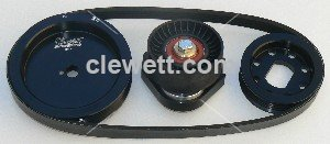 2.0-3.3 Serpentine fan belt conversion 1965-83