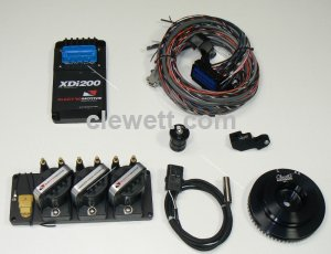 XDi-200 single plug ignition kit, 911 Porsche, YORK A/C 1965-83