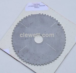 "6.0"" (155mm) diameter trigger wheel, 60 tooth -2"