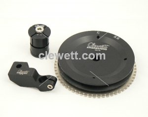 911 Crank trigger adapter 116mm pulley