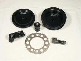 Individual Porsche Adapter kit components